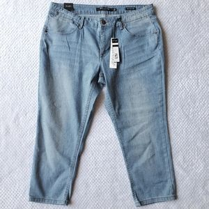 Max Jeans Straped Blue Jeans Size 14